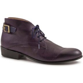 Μπότες Leonardo Shoes PINA 045 VIOLET/BLUE