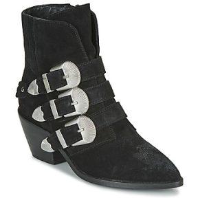 Μπότες Pepe jeans WESTERN W BUCKLE ΣΤΕΛΕΧΟΣ: Δέρμα και συνθετικό & ΕΠΕΝΔΥΣΗ: & ΕΣ. ΣΟΛΑ: Ύφασμα & ΕΞ. ΣΟΛΑ: Συνθετικό
