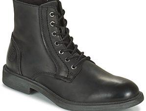 Μπότες Jack Jones JFW KARL LEATHER BOOT ΣΤΕΛΕΧΟΣ: Δέρμα & ΕΠΕΝΔΥΣΗ: Ύφασμα & ΕΣ. ΣΟΛΑ: Ύφασμα & ΕΞ. ΣΟΛΑ: Καουτσούκ