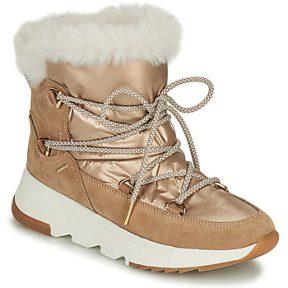 Μπότες για σκι Geox FALENA ΣΤΕΛΕΧΟΣ: Δέρμα βοοειδούς & ΕΠΕΝΔΥΣΗ: Ύφασμα & ΕΣ. ΣΟΛΑ: Ύφασμα & ΕΞ. ΣΟΛΑ: Καουτσούκ