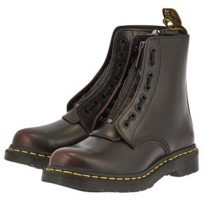 Dr. Martens – Dr. Martens Pascal Frnt Zip 8 Eye Boot 24330600-CR-ARC – ΜΑΥΡΟ