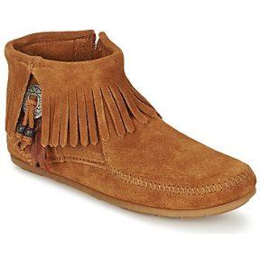 Μπότες Minnetonka CONCHO FEATHER SIDE ZIP BOOT