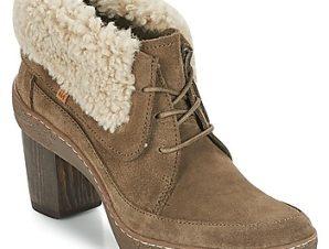 Μπότες για την πόλη El Naturalista LICHEN ΣΤΕΛΕΧΟΣ: καστόρι & ΕΠΕΝΔΥΣΗ: Δέρμα & ΕΣ. ΣΟΛΑ: Δέρμα & ΕΞ. ΣΟΛΑ: Καουτσούκ